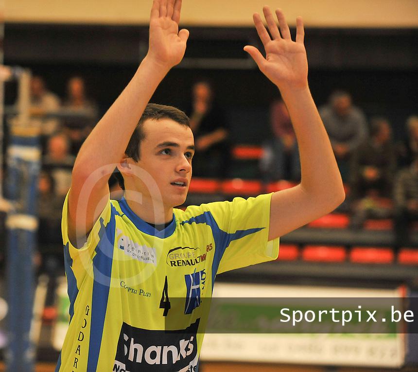 Volley Guibertin : Guillaume Godart.foto VDB / BART VANDENBROUCKE