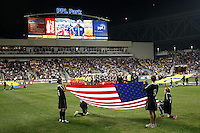 USA Men vs Colombia October 12 2010