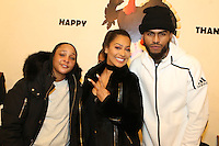 NEW YORK, NY - NOVEMBER 23, 2016 Snoop, LaLa Anthony & Dave East attend the Educational Alliance Boys & Girls Club Thanksgiving Event, November 23, 2016 in New York City. Photo Credit: Walik Goshorn / Mediapunch