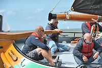 ZEILEN: STAVOREN: IJsselmeer, 15-08-2016, IFKS Skûtsjesilen Stavoren, ©foto Martin de Jong
