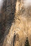 El Capitan detail, Yosemite National Park, California USA