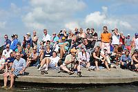 ZEILEN: LEMMER: Lemster baai, 30-07-2014, SKS skûtsjesilen, ©Martin de Jong