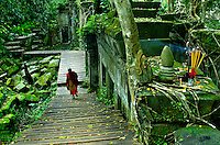 CAMBODIA 2007, BENG MEALEA TEMPLE during the Monsoon season