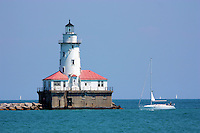 View of the Chicago Lighthouse from Navy Pier