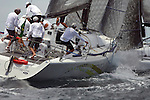 Race of Farr 40 and Sydney 38 during the Rolex Trophy One Design Series 2008..The Rolex Trophy, formerly the British Trophy, is sailed out of Sydney in December each year. It is not only a significant lead-up event to the Rolex Sydney Hobart Yacht Race, but a prestigious regatta in its own right..The Cruising Yacht Club of Australia originally introduced a regatta to provide a competitive series in the even years between the biennial international teams racing series for the Southern Cross Cup. Unlike the Southern Cross Cup, the Rolex Trophy is a regatta for individual yachts and is a standalone series that does not include the Rolex Sydney Hobart Yacht Race..The Rolex Trophy is now held every year, with large fleets racing in IRC and PHS rating divisions, plus one-design divisions.