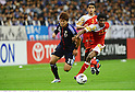 Hiroki Sakai (JPN), Ahmed Mubarak (OMA),.JUNE 3, 2012 - Football / Soccer :.2014 FIFA World Cup Asian Qualifiers Final round Group B match between Japan 3-0 Oman at Saitama Stadium 2002 in Saitama, Japan. (Photo by Takamoto Tokuhara/AFLO)