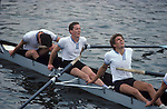 Henley, oarsmen at the end of a race.  The English Season published by Pavilon Books 1987