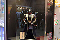 February 8th, 2012 : Tokyo, Japan &ndash; Darth Vader wearing Japanese traditional armor is displayed for The 73rd Tokyo International Gift show 2012 at Tokyo Big Sight. There are over 3 million items including gift products and everyday goods. 2500 exhibitors showcase their unique products. This exhibition is held from February 8 to 10. (Photo by Yumeto Yamazaki/AFLO).