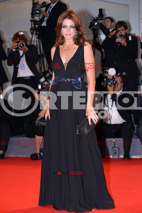 August 30, 2012: Claudia Gerini attends the &quot;Superstar&quot; Screening during the 69th Venice International Film Festival at Palazzo del Casino in Venice, Italy..Credit: &copy; F2F / MediaPunch Inc. /NortePhoto.com<br />