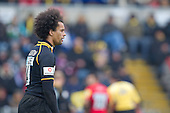Richard Haughton of London Wasps RFC - London Wasps RFC vs Saracens RFC - Aviva Premiership Rugby at Adams Park, Wycombe Wanderers FC - 12/02/12 - MANDATORY CREDIT: Ray Lawrence/TGSPHOTO - Self billing applies where appropriate - 0845 094 6026 - contact@tgsphoto.co.uk - NO UNPAID USE.