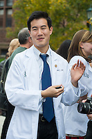 Matthew Lin. Class of 2016 White Coat Ceremony.
