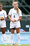 23 August 2015: North Carolina's Summer Green. The University of North Carolina Tar Heels played the Fresno State Bulldogs at Fetzer Field in Chapel Hill, NC in a 2015 NCAA Division I Women's Soccer game. UNC won the game 7-0.