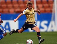 Elizabeth Eddy (USA)..FIFA U17 Women's World Cup, Paraguay v USA, Waikato Stadium, Hamilton, New Zealand, Sunday 2 November 2008. Photo: Renee McKay/PHOTOSPORT