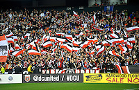 D.C. United Fans, D.C. United defeated Real Salt Lake 1-0 in their home opener, at RFK Stadium, Saturday March 9,2013.
