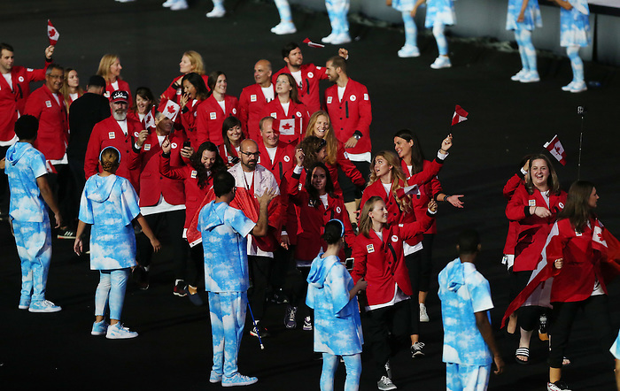 Rio de Janeiro-7/9/2016-opening ceremony at the 2016 Paralympic Games in Rio. Photo Scott Grant/Canadian Paralympic Committee