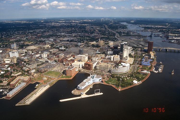 1996 October 10..Redevelopment.Downtown West (A-1-6)..TOWN POINT PARK.WORLD TRADE CENTER.FREEMASON HARBOR..NEG#.NRHA#..