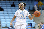 21 November 2013: North Carolina's Brittany Rountree. The University of North Carolina Tar Heels played the Coastal Carolina University Chanticleers in an NCAA Division I women's basketball game at Carmichael Arena in Chapel Hill, North Carolina. UNC won the game 106-52.