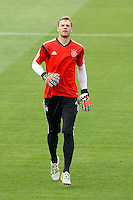 Goalkeeper Manuel Neuer of Germany during training