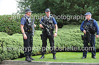 Celtic Manor Resort, Newport, South Wales<br /> <br /> Armed Police at the Nato Summit<br /> <br /> <br /> Photographer: Jeff Thomas - Jeff Thomas Photography - 07837 386244/07837 216676 - www.jaypics.photoshelter.com - swansea1001@hotmail.co.uk