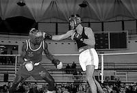 Roma  1998.Incontro  di boxe dilettanti.Um Cesar ( Nardiello) vs Piersigilli (Laima Team).