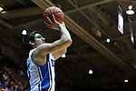 04 November 2014: Duke's Grayson Allen. The Duke University Blue Devils hosted the Livingstone College Blue Bears at Cameron Indoor Stadium in Durham, North Carolina in an NCAA Men's Basketball exhibition game.