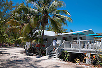 Cayo Hueso cafe on the beach of Zachary Taylor Park, Key West, Florida