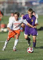 Boys JV Soccer vs Hamilton Heights 8-25-11
