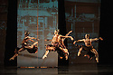 London, UK. 19.09.2012. San Francisco Ballet presents Program C, a mixed bill of four pieces, at Sadler's Wells. This piece is:  Raku, by Yuri Possokhov. Dancers in this piece are: Yuan Yuan Tan, Damian Smith, Pascal Molat. Photo credit: Jane Hobson