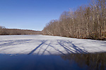 Scotchtown, New York - Spring scenes at Highland Lakes State Park  on  March 31, 2014.