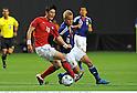 Ki Sung-Yueng (KOR), Keisuke Honda (JPN),AUGUST 10, 2011 - Football / Soccer :Kirin Challenge Cup 2011 match between Japan 3-0 South Korea at Sapporo Dome in Sapporo, Hokkaido, Japan. (Photo by Takamoto Tokuhara/AFLO)