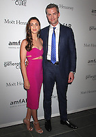 NEW YORK, NY - JUNE 21: Ryan Serhant and fiancee  Emilia Bechrakis attend amfAR generationCURE 5th Annual SOLSTICE event in New York, New York on June 21, 2016.  Photo Credit: Rainmaker Photo/MediaPunch