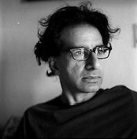 Asim Rafiqui, photographer, 2011 in Delhi, India. Photo by Suzanne Lee