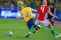 Hungary-Sweden soccer 2011