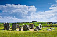 Drombeg Stone Circle, County Clare, West of Ireland