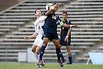 31 August 2008: FIU's Juan Guerra (10) and Wake Forest's Sam Cronin (2). The Wake Forest University Demon Deacons defeated the Florida International University Panthers 3-0 at Fetzer Field in Chapel Hill, North Carolina in an NCAA Division I Men's college soccer game.