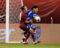Guillermo Ochoa, Landon Donovan. The USMNT tied Mexico, 1-1, during their game at Lincoln Financial Field in Philadelphia, PA.