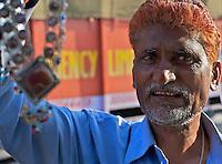 Street vendor outside New Delhi