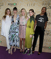 NEW YORK, NY-October 18:Grace Gummer,Erin Darke, Anna Camp,Genevieve Angelson, Joy Bryant  at Amazon Originasl Series Good Girls Revolt screening  at the Joseph Urban Theater at Hearst Tower in New York.October 18, 2016. Credit:RW/MediaPunch