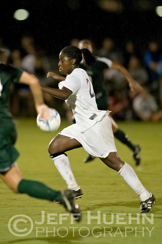 SAN ANTONIO, TX - SEPTEMBER 4, 2007: The Baylor University Bears vs. University of Texas at San Antonio Roadrunners Women's Soccer at the UTSA Soccer Field. (Photo by Jeff Huehn)