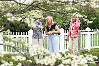 Virginia Garden tour in Charlottesville, VA.