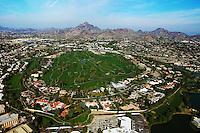 aerial photograph of Biltmore. Phoenix, Arizona