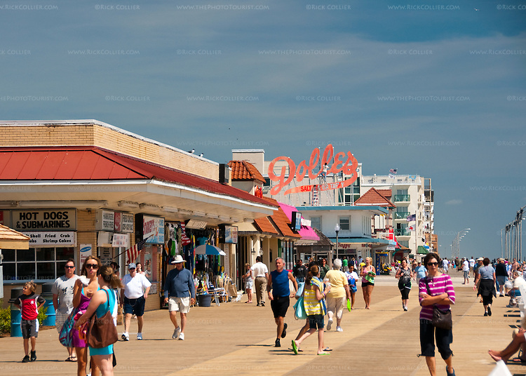 While Rehoboth Beach repaints and spruces up in the spring, the boardwalk begins to fill with visitors, shoppers, and beachgoers ready for a warm, sunny summer at the shore.