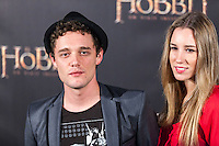 "Fede Aguado attends ""The Hobbit: An Unexpected Journey"" premiere at the Callao cinema- Madrid."