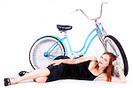 Bicycle Pinup - Rachel Hutchinson