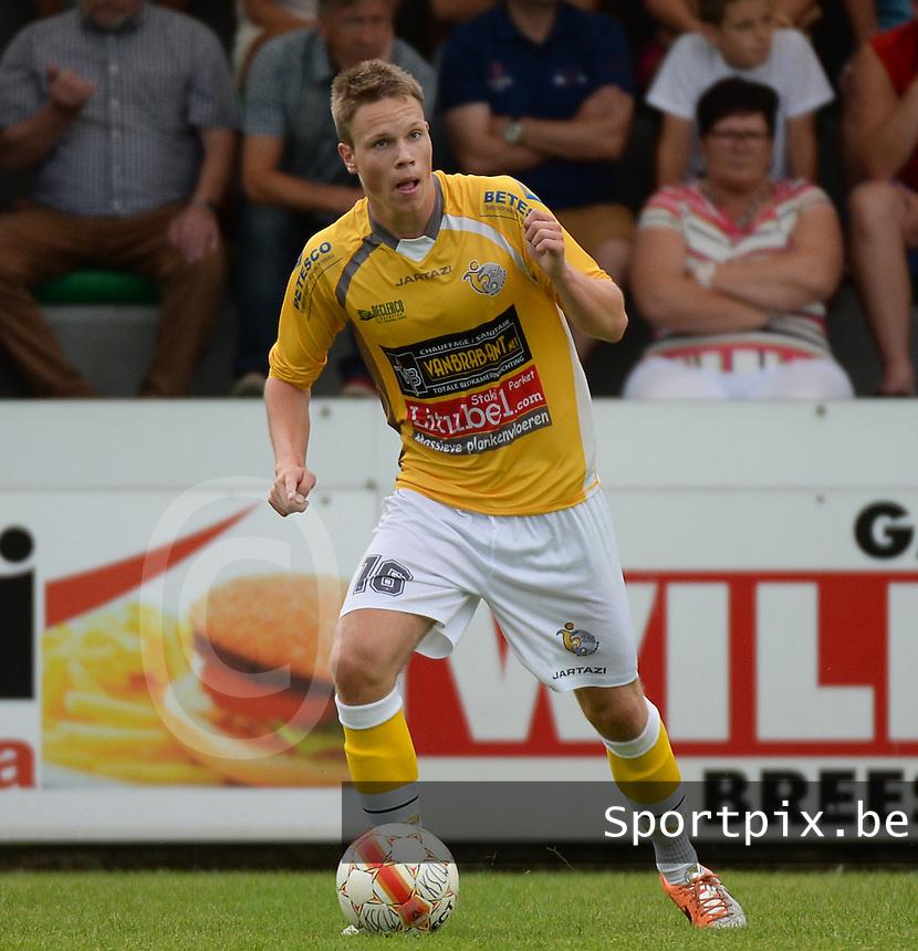 KSC Wielsbeke : Jens Decoster <br /> foto VDB / BART VANDENBROUCKE