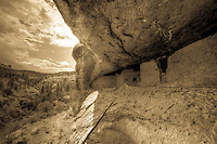 Gila View - Gila Cliff Dwelling - New Mexico