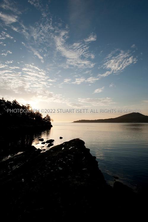 8/228/2009--Sturdies Bay, Galiano island, BC, Canada..Sunrise in Sturdies Bay on Galiano Island in the Gulf Islands...©2009 Stuart Isett. All rights reserved.