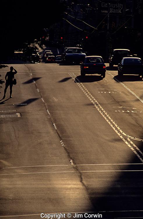 Silhouettes, Northwest Scenes, Urban Scenes