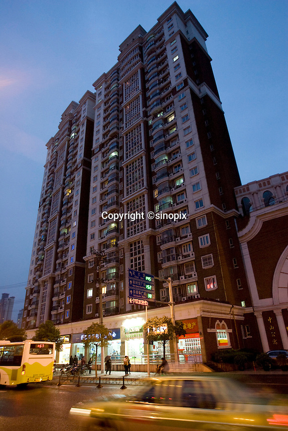 Apartment block that houses CEC Limited office in Shanghai.