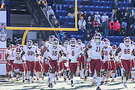 Annapolis, MD - December 3, 2016: Temple Owls runs on the field during game between Temple and Navy at  Navy-Marine Corps Memorial Stadium in Annapolis, MD.   (Photo by Elliott Brown/Media Images International)